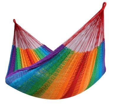 Mexico Rainbow Dubbel Hängmatta