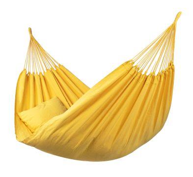 Plain Yellow Enkel Hängmatta