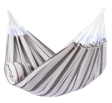 Stripes Silver XXL Hängmatta