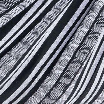 Comfort Black White Pläd