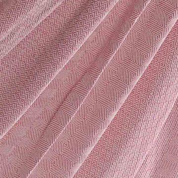 Natural Pink Pläd