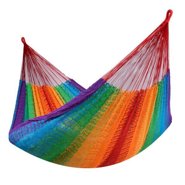 'Mexico' Rainbow Dubbel Hängmatta