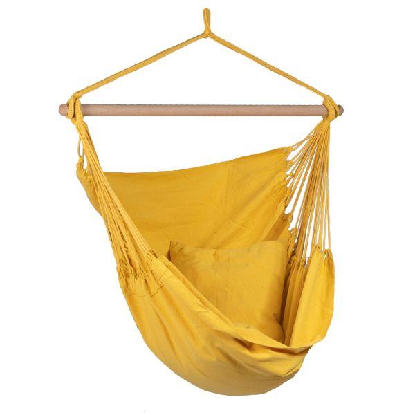 'Organic' Yellow Enkel Hängstol