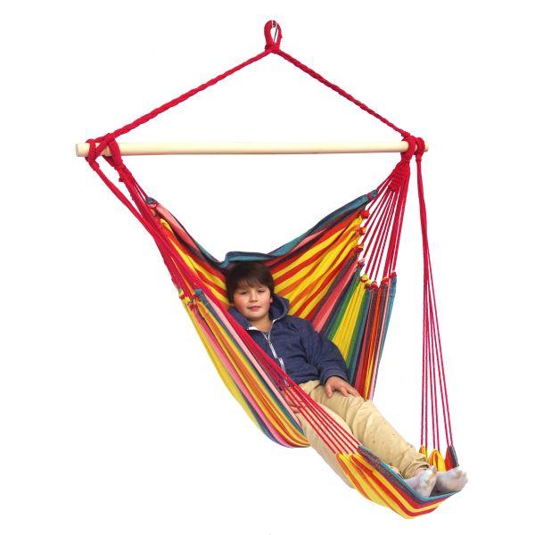 'Tropical' Sunny Lounge Enkel Hängstol